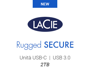 Banner LaCie Rugged Secure